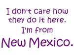 I'm From New Mexico