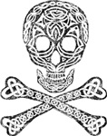 Celtic Skull And Crossbones