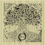 Circle Celtic Tree of Life Linens