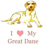 i heart my great dane