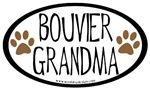 Bouvier Grandma Oval