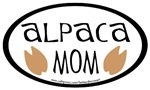 Alpaca Mom Oval