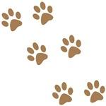 Brown Pawprints