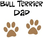 Big Paws Bull Terrier Dad