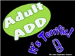 Adult ADD