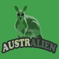 AustrAlien t-shirts