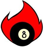 Burning 8 Ball!