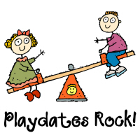 Playdates Rock! Playground T Shirts Gifts