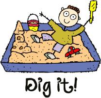 Dig It! Sandbox Boy T Shirts Gifts