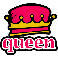 Funky Queen Crown Urban Hip T-Shirts Gifts