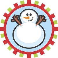Cool Christmas Snowman Family Photo T-Shirts