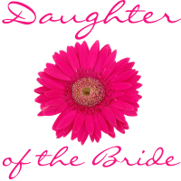 Daughter of the Bride Wedding Apparel Pink Daisy