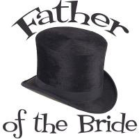 Top Hat Wedding Party Father of the Bride T-Shirts