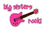 BIG Sisters Rock! Guitar - PINK & BROWN