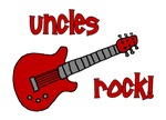 Uncles Rock! Red Guitar