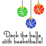 BasketballChick Deck the Halls