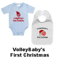 VolleyChick VolleyBaby First Christmas