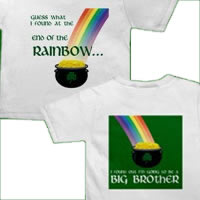 St. Patrick's Day rainbow brother