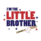 i'm the little brother baseball