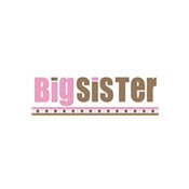 big sister brown pink