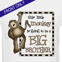 monkey big brother t-shirt