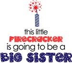 Little Firecracker Big Sister