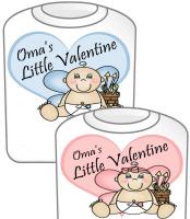Oma's Little Valentine GIRL