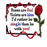Rose Anti Valentine's day T-Shirt