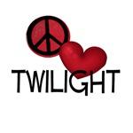 Peace Love Twilight Fan T-Shirt