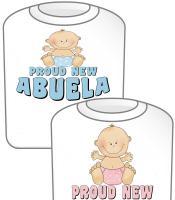 Proud New Abuela T-shirt Design
