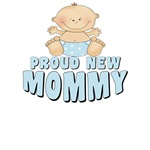 Proud New Mommy T-shirt Design
