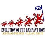 Rampant Lion Evolution