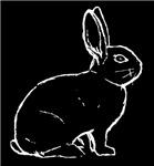 Bunny Outline