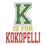 K is for Kokopelli