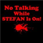 No Talking Stefan, red