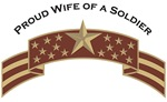 Proud Wife of a Soldier, Stars & Stripes©, Desert