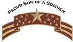 Proud Son of a Soldier, Stars & Stripes©, Desert