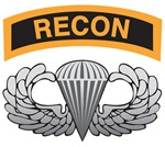 Recon Tab over Basic Airborne Wings