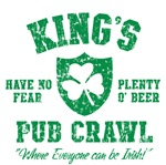 King's Irish Pub Crawl