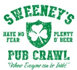 Sweeney's Irish Pub Crawl