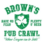 Brown's Irish Pub Crawl