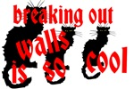 breaking walls cats