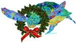 Christmas Holiday Sea Turtle