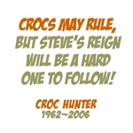 Crocs may rule - Crikey Steve Irwin!