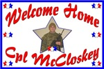 Tami's Customized Welcome Home Sign