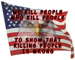 We Kill People Who Kill People...