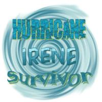 Hurricane Irene Waves Survivor T-Shirts, Apparel a