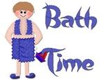 Bath Time - Boy