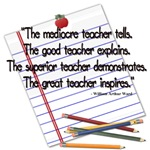 The mediocre teacher - quote