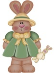 Girl Little Bunny